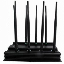 All Frequency 3G 4G Wimax Phone Blocker WiFi Jammer & GPS VHF UH