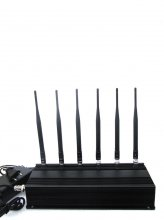 6 Antenna Cell phone & RF Jammer (315MHz/433MHz)