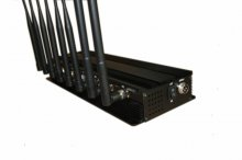 8 Antenna 3G 4G Mobile Phone Jammer & WiFi Bluetooth Signal Jamm