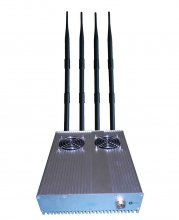 20W Powerful Desktop GPS 3G Mobile Phone Jammer with Outer Detac