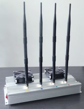 High Power (45W) indoor Cell phone Jammer +Omni Directional Ante