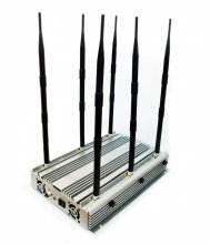 70W Adjustable High Power Desktop 2G 3G 4G Phone Jammer Up to 10
