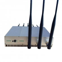 8 Antennas 16W High Power 3G 4G Cell phone Jammer& WiFi Jammer