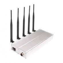 Worldwide Mobile Phone Jammer with 5 Antenna