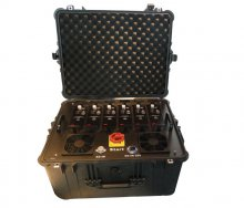 Portable Multi Band High Power VHF UHF Jammer for Military and V