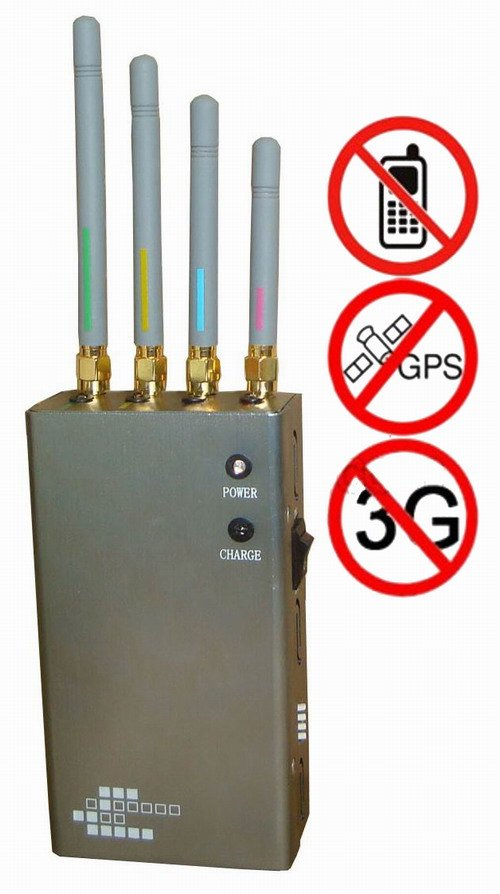 5-Band Portable Cell Phone & GPS Jammer - Click Image to Close